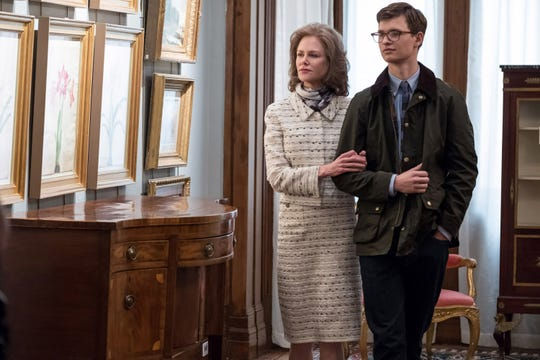 """Nicole Kidman acts as surrogate mom to Ansel Elgort in """"The Goldfinch."""""""