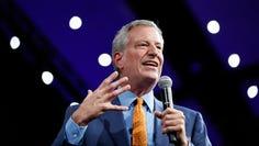New York City Mayor Bill de Blasio announced he will seek the 2020 Democratic presidential nomination on May 16, 2019.