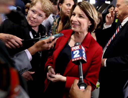Democratic Senator of Minnesota Amy Klobuchar announced that she is running for President of the United States on Feb. 10, 2019.