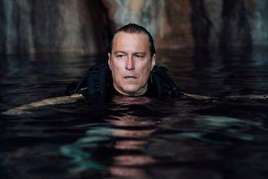 """John Corbett utters the words """"I believe in you,"""" proving that positive vibes don't belong in a shark movie."""