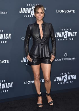 Halle Berry's 'John Wick 3' workout would probably break you