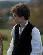 "Saoirse Ronan and Timothée Chalamet reunite in Greta Gerwig's ""Little Women."""