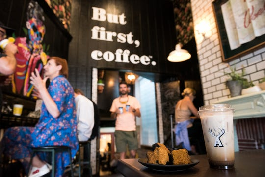 Alfred Coffee in Los Angeles has plenty of regulars who come in for their daily dose of mushrooms in a Chaga-ccino.