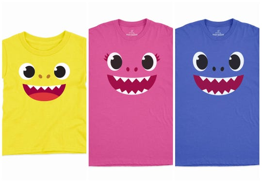 "You've got to wear the matching ""Baby Shark"" tees to ""Baby Shark Live."""