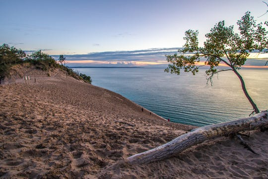 Sleeping Bear Dunes National Lakeshore in Michigan