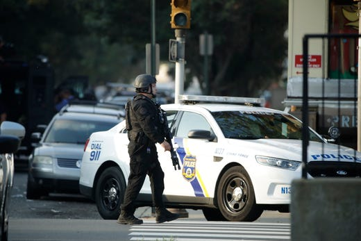Philadelphia police shooting: 6 officers shot