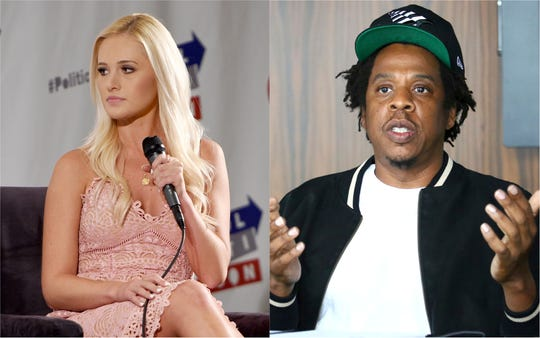 Tomi Lahren slammed the NFL's decision to partner with Jay-Z on events and social activism.