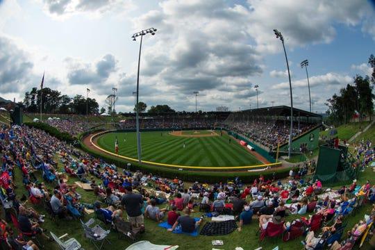 General view of Lamade Stadium in Williamsport, Pennsylvania.