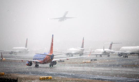 If a storm causes cancellations and delays one night, dispatchers may move an empty plane to its next destination so it's ready to help pick up the slack the following day.