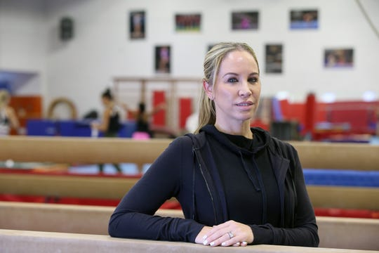 Maggie Haney, the head coach of the MG Elite team, who has trained some of the best gymnasts in the U.S., including Old Bridge native Laurie Hernandez, and Riley McCusker, who moved from Conn. to Brielle to train with Haney and is one of the top gymnasts in the world, talks about her team and career at Monmouth Gymnastics Elite in Marlboro, NJ Thursday, August 15, 2019.
