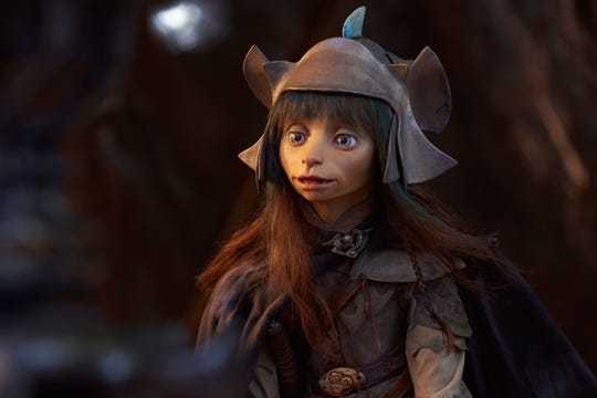 "A still from ""The Dark Crystal: Age of Resistance,"" premiering Aug. 30 on Netflix."