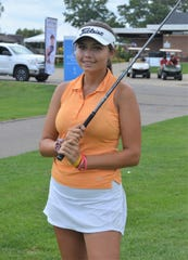 Only 14 years old, Alexa Pano is competing against the pros at the Symetra FireKeepers Casino Hotel Championships this week at Battle Creek Country Club.