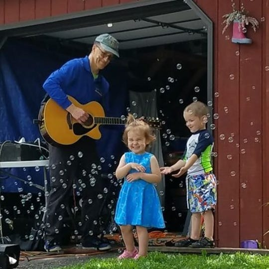 Johnny Only (left) is an Endwell-based toddler music entertainer.