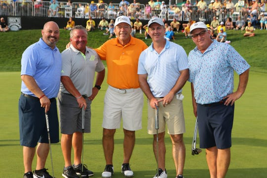 The Dick's Sporting Goods Open continued Wednesday, Aug. 14, 2019 at the En-Joie Golf Course in Endicott. The day's events included the UHS Golf Expo, featuring legendary golfer Jack Nicklaus.