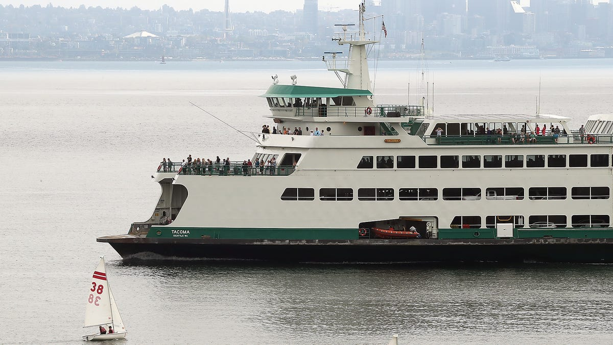 bremerton ferry capacity limited after vessel propeller damaged pensacola news journal