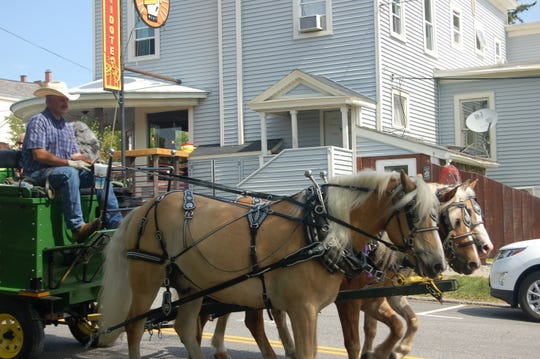 Horse and wagon rides are among the offerings Aug. 24 at Vergennes Day.