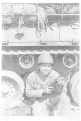 "Antonio ""Tony"" Muniz of Falfurrias during his service in Korea."