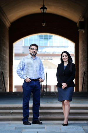 J. Mauricio Espinoza and Maria Espinola are two of the co-founders of the Latino Faculty Association at the University of Cincinnati.