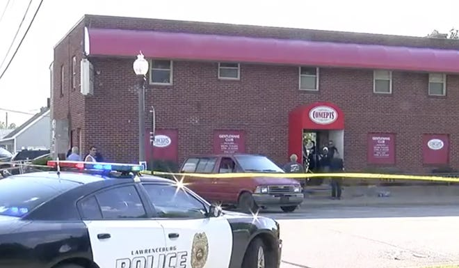 Shots fired in gentleman's club during robbery