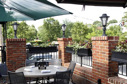 Teller's of Hyde Park serves lunch and dinner on the roof-top patio Aug. 31.