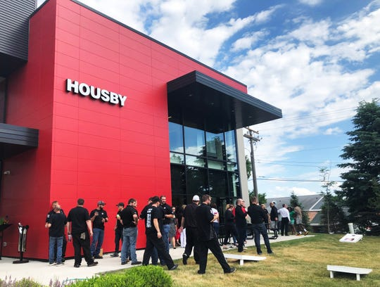 Des Moines-based Housby holds patio parties for workers as one of its community building activities.