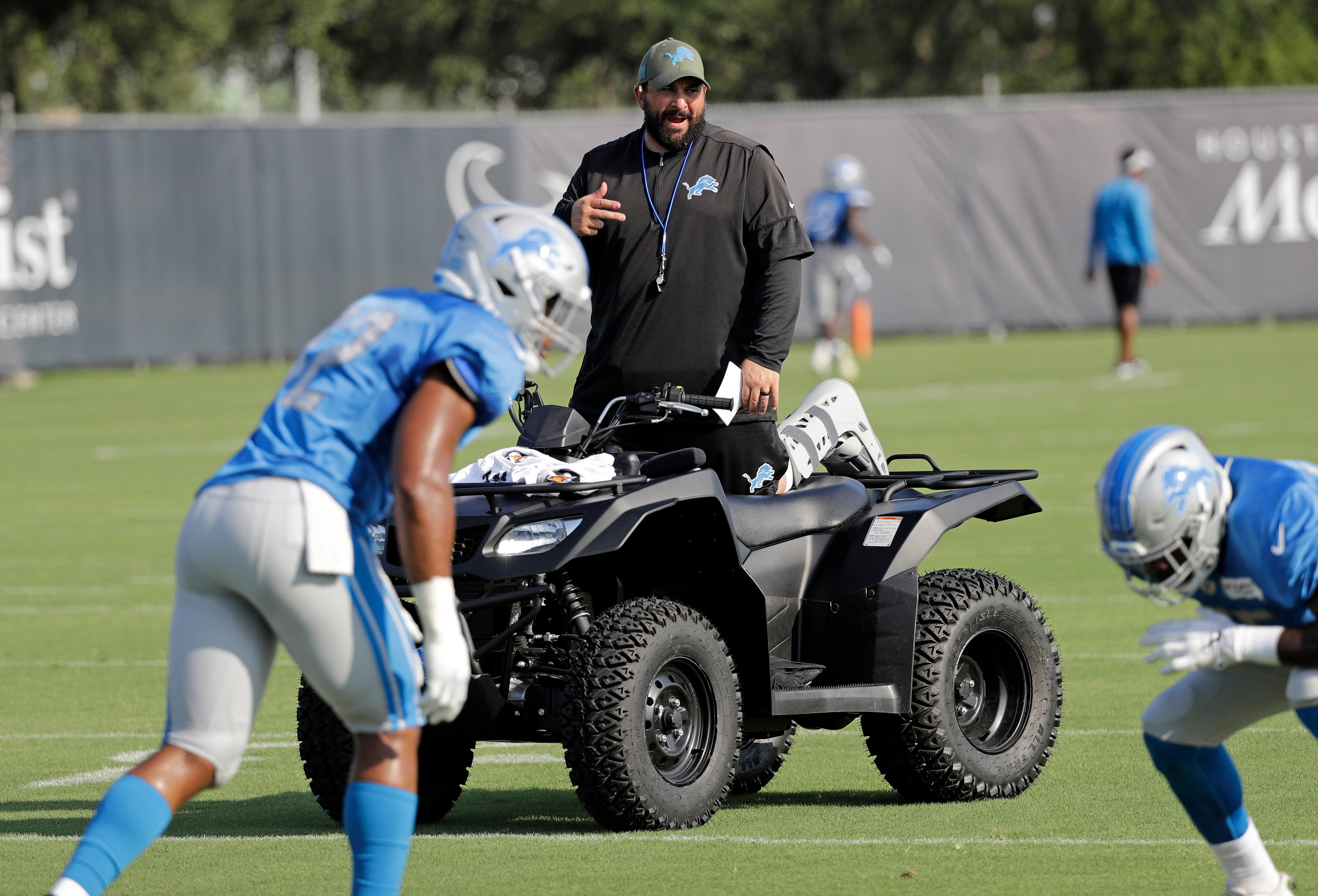 Detroit Lions observations: Leaders emerging for No. 4, 5 WR spots in Houston