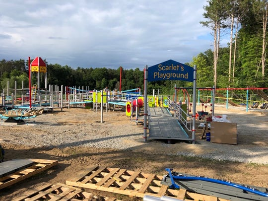 Barrier-free playground in Commerce Township.