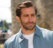 """Actor Jake Gyllenhaal attributes conquering his fear of performing in a one-man play,  by watching the Oscar-winning documentary about the free climber Alex Honnold.  Few performances are as daunting as the one-person play. That's why Jake Gyllenhaal had to find a way to conquer that fear when he took on the role of Abe in the second half of """"Sea Wall/A Life."""""""