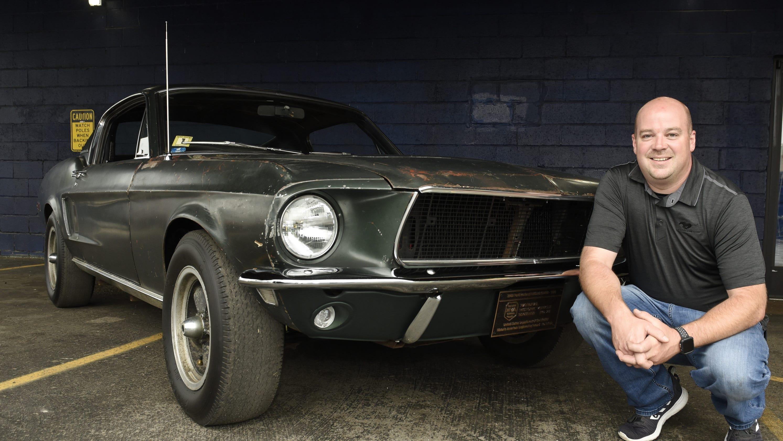 Mustang Bullitt For Sale >> Original Mustang from 'Bullitt' that made splash in ...