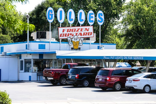 Gilles Frozen Custard at 819 S. Main St. in Fond du Lac, Wis. Thursday, August 15, 2019. The restaurant is celebrating its 70th anniversary with a party Monday, Aug. 19, 2019.