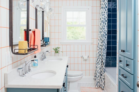 A bathroom designed by Amanda Louise Campbell