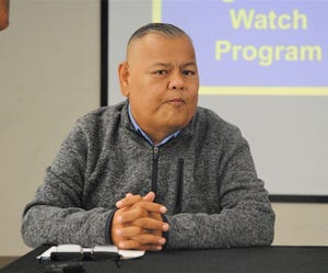 "Guam Police Department Chief Steve Ignacio will be at Saturday's Neighborhood Watch Program ""summit"""