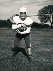 Tommy McDonald, a member of the 2019 class of the Henderson County Sports Hall of Fame, played football, baseball and ran track at Henderson County High School where he graduated in 1961.