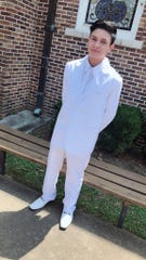 Brayan Geovani Fuentes-Agustin of Canton, Mississippi, was shot multiple times in the arm and abdomen on Aug. 7, 2019. The 19-year-old was trying to defend his parents and siblings when three men broke into their home.