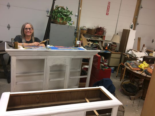 It takes more than a big job of restoring and painting to overwhelm Eve Kiser.