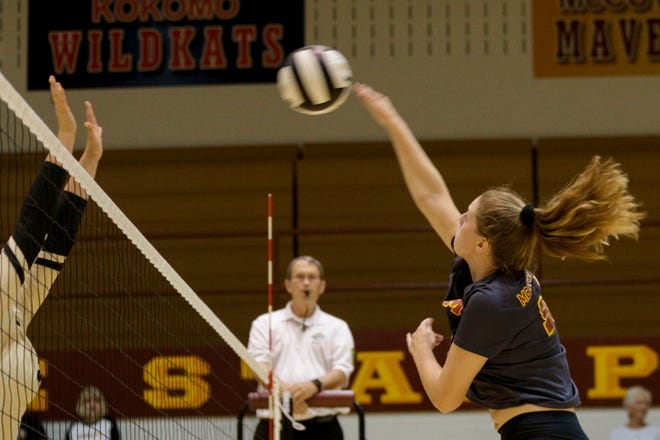 McCutcheon's Sheridan Phillips had four kills and four blocks in a sweep over 4A No. 5 Fishers.