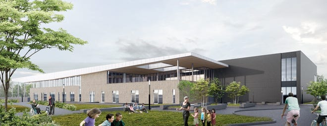 The Wellness and Aquatic Center is expected to open in January 2020.