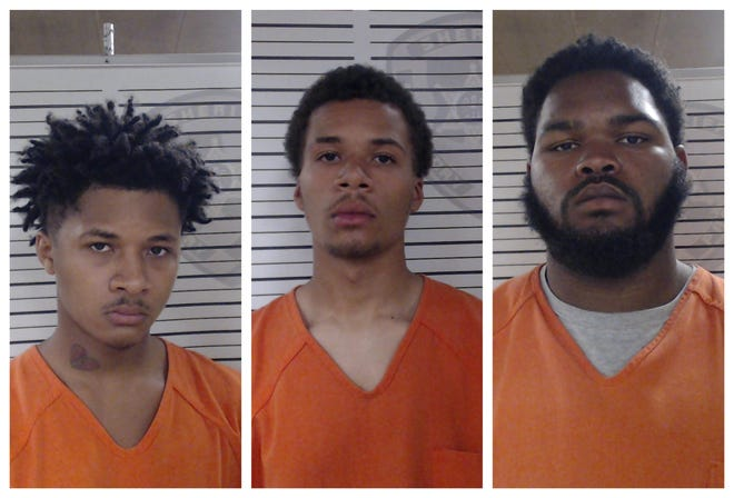 From left to right: Traylon Anderson, Tristan Anderson and Jaquantay Lavergne