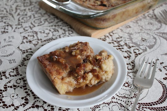 Evangeline Maid Bread Pudding