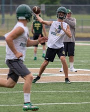 Senior Ben Althouse hopes to be promoted from varsity backup to starter at Howell.