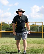 Clarksville coach Justin Boser will look to snap a 45-game losing streak this season.