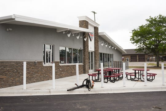The new Quality Dairy in Holt will have a patio and drive-thru window. Detroit Frankie's Pizza will be sold inside the store.