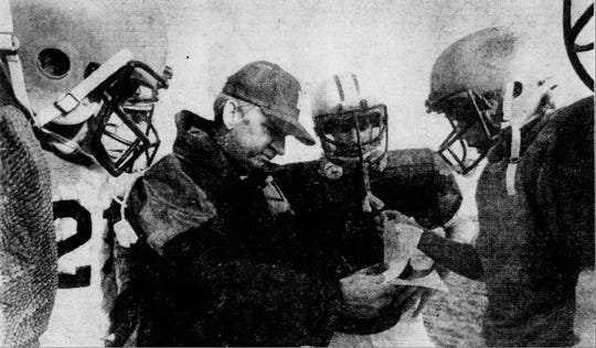 Tom Motherwell coached Haslett to an unbeaten regular season in 1981 and the program's first-ever playoff game.