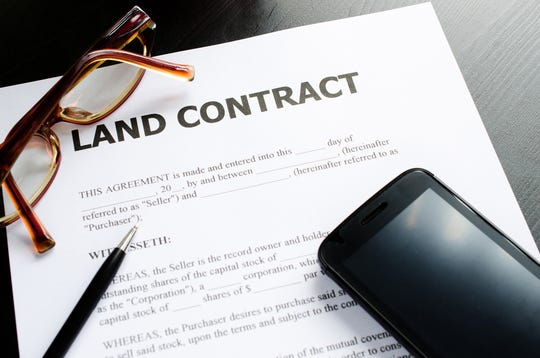 A land contract is a method of purchasing or selling a home without going through a bank or lender.