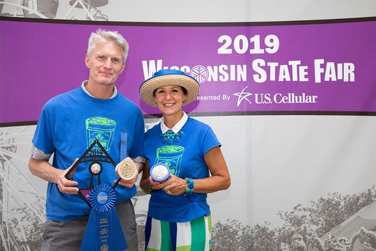 Pine River Pre-Pack collects its awards at the 2019 Wisconsin State Fair.