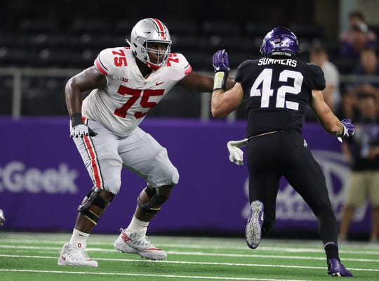 Junior left tackle Thayer Munford is the only fulltime returning starter on Ohio State's offensive line