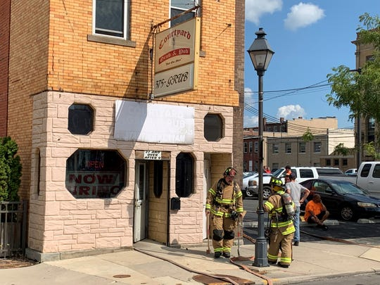 The Marion Fire Department is investigating the cause of smoke that forced the evacuation of the building that houses Courtyard Grub & Pub, located at 142 N. Main St. No flames have been observed. No injuries were reported.