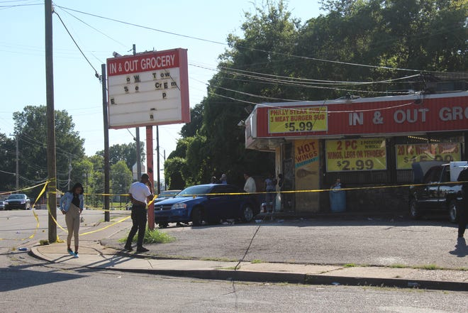 One woman was killed and two males were injured after a North Memphis shooting on Thursday.