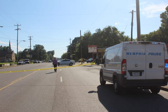 A shooting in North Memphis left one woman dead and two males injured on Thursday.