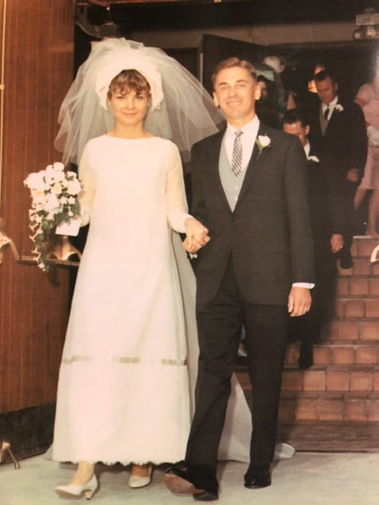 Mary and Willi Jurczyk of Brookfield on their wedding day. Willi died on Aug. 11.